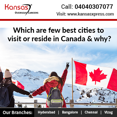 Best cities to visit or stay in Canada