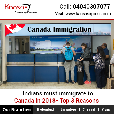 Reasons for Indians to immigrate to Canada in 2018