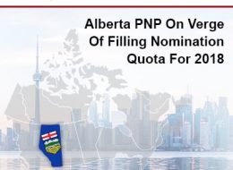 Alberta PNP On The Verge Of Filling The Nomination Quota For 2018