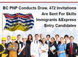 BC PNP Conducts Draw, 472 Invitations Are Sent For Skills Immigrants And Express Entry Candidates