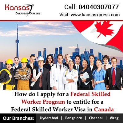 How do I apply for a Federal Skilled Worker Program to entitle for a Federal Skilled Worker Visa in Canada