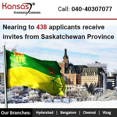 Nearing to 438 applicants receive invites from Saskatchewan Province