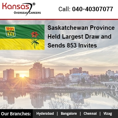 Saskatchewan Province Held Largest Draw and Sends 853 invites