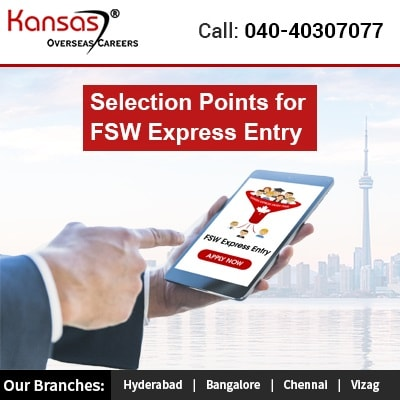 Selection Points for FSW Express Entry