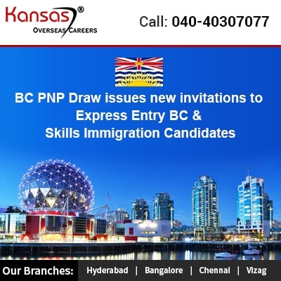 BC PNP Draw Issues New Invitations To Express Entry BC & Skills Immigration Candidates