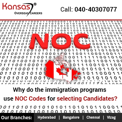 Why Do The Immigration Programs Use NOC Codes For Selecting Candidates