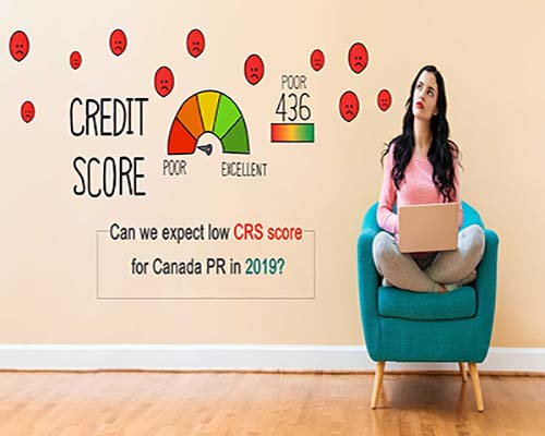 Low CRS Score for Canada PR
