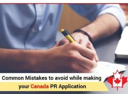 Common Mistakes To Avoid While Making Your Canada PR Application