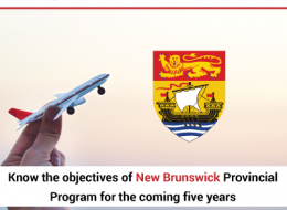 Objectives of New Brunswick Provincial Nominee Program for the coming 5 years